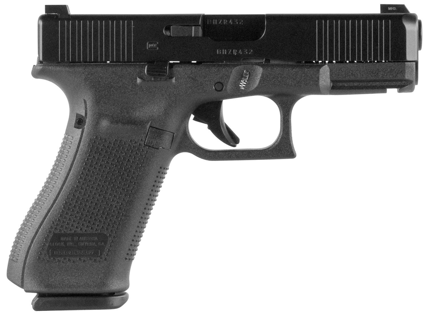 Glock PA455S703 G45 Compact FS 9mm Luger Double 4.02