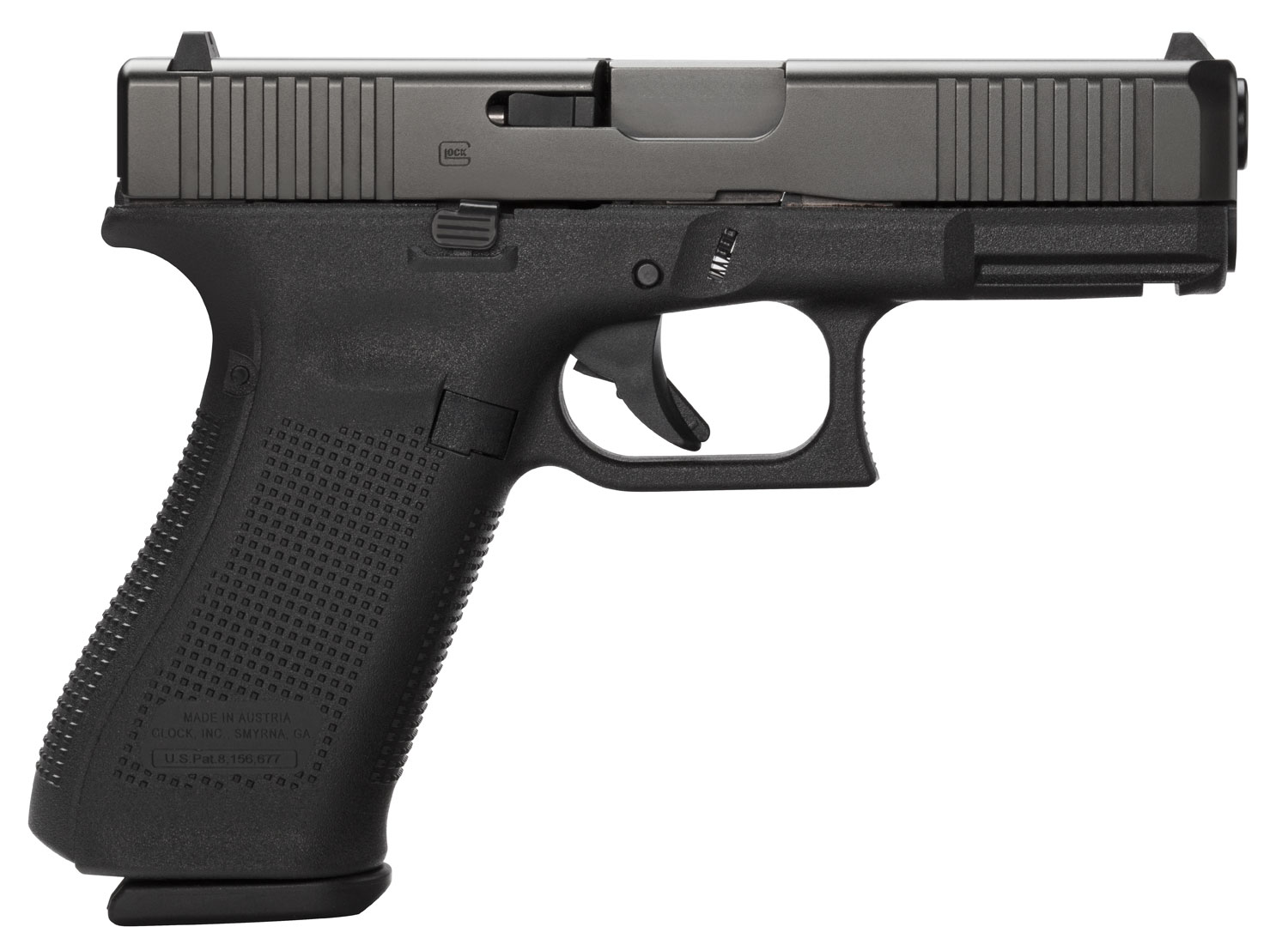 Glock PA455S303AB G45 Compact FS 9mm Luger Double 4.02