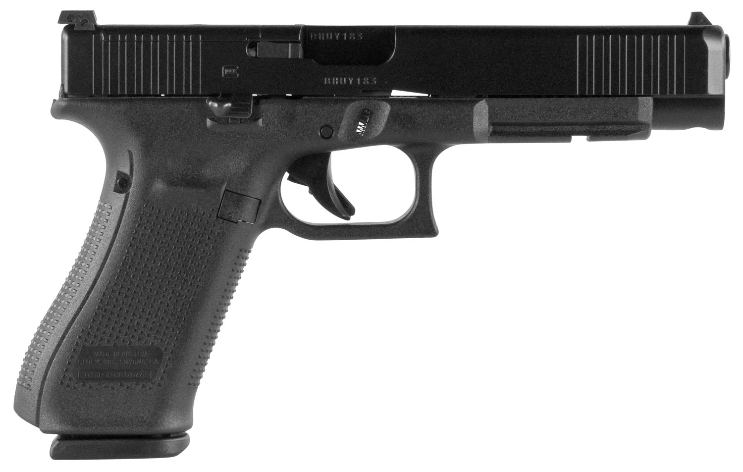 Glock PA343S101MOS G34 Gen 5 MOS FS  9mm Luger Double 5.31