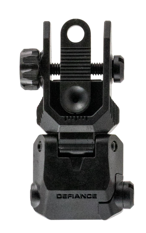 Kriss USA DARSBL00 Flip Up Rear Sight AR-15 Black Low Profile Steel