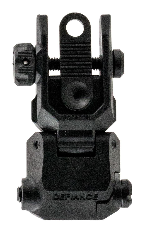 REAR FLIP-UP SIGHT BLK POLY | DA-PRSBL00