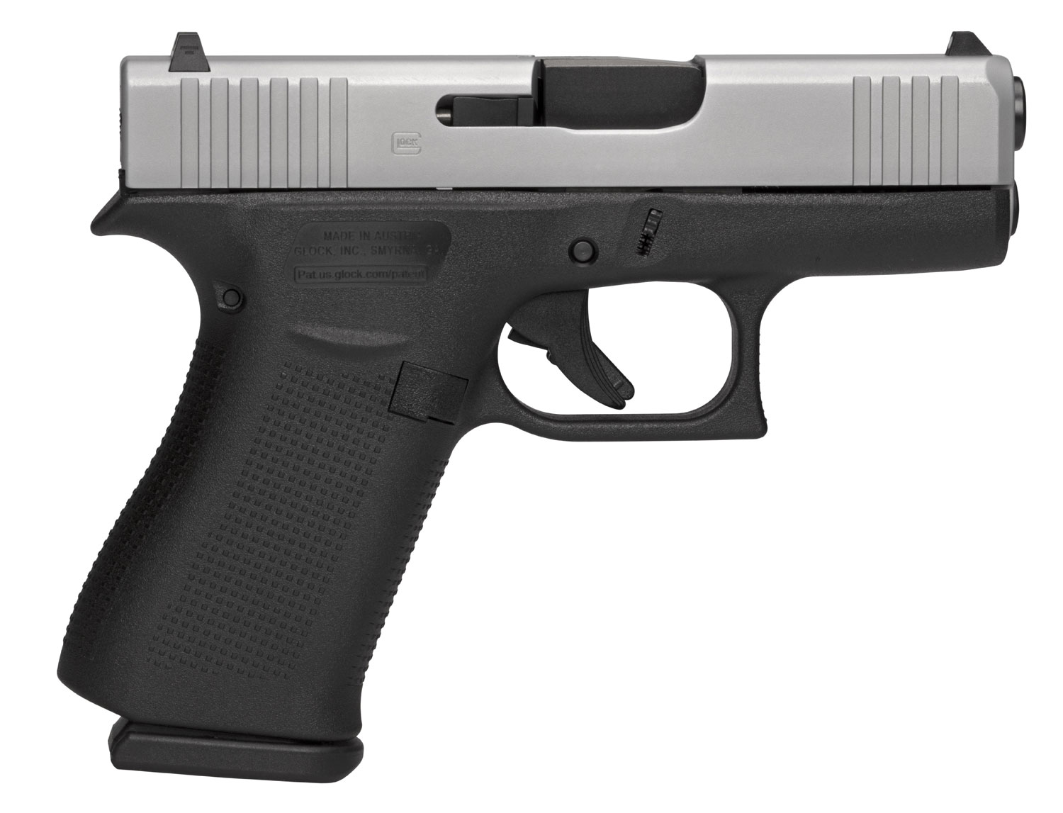 Glock PX435SL701 G43X Subcompact 9mm Luger Double 3.41