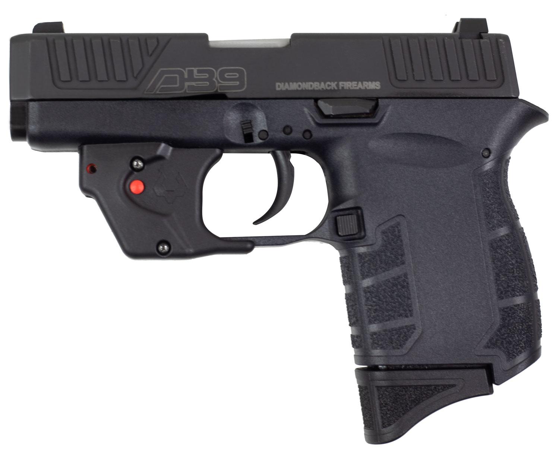 Diamondback DB9VL DB9 G4 9mm Luger 3.10