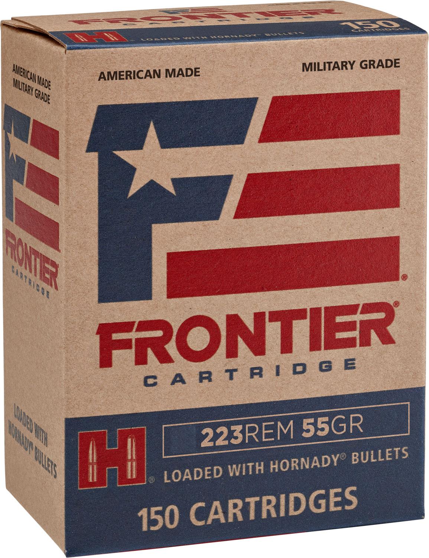 Frontier Cartridge FR1215 Frontier   223 Remington 55 GR Spire Point 150 Bx/ 8 Cs