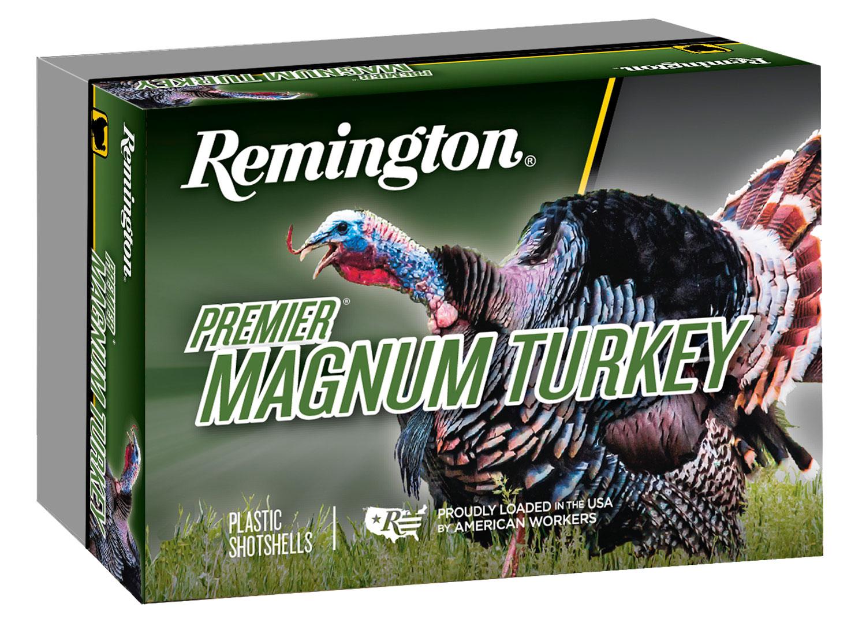 Remington Ammunition P12XHM4A Premier Magnum Copper-Plated Buffered Turkey  12 Gauge 3