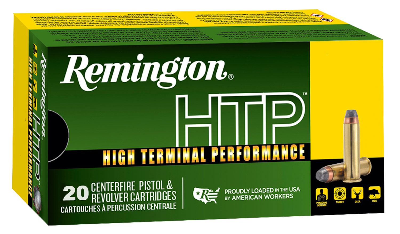 Remington Ammunition RTP38S21A High Terminal Performance   38 Special +P 125 GR Semi-Jacketed Hollow Point 20 Bx/ 25 Cs