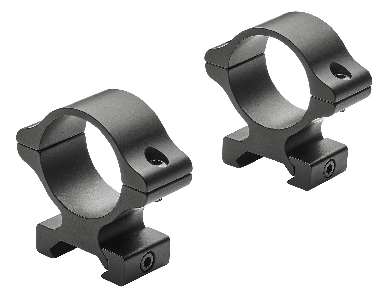 Leupold 171479 Rifleman   Ring Set 30mm Diam High Aluminum Black Matte