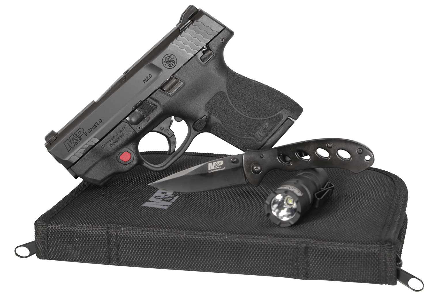 Smith & Wesson 12395 Everyday Carry 9 M2.0 Carry and Range Kit 9mm Double 3.1