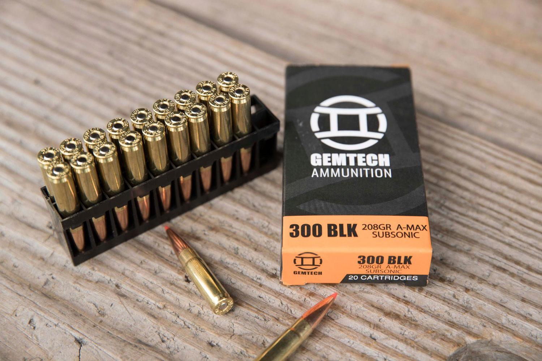 Gemtech 3010163 Subsonic Polymer Tip 300 Blackout 208 GR Polymer Tip 20 Bx