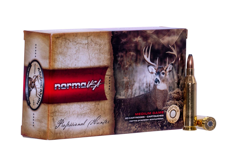 NORMA AMMUNITION (RUAG) 20160332 Oryx   243 Winchester 100 GR 20 Bx/10 Cs