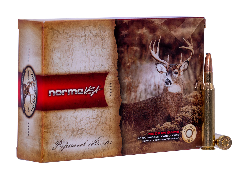 NORMA AMMUNITION (RUAG) 20169472 American PH   270 Winchester 150 GR Oryx 20 Bx/ 10 Cs