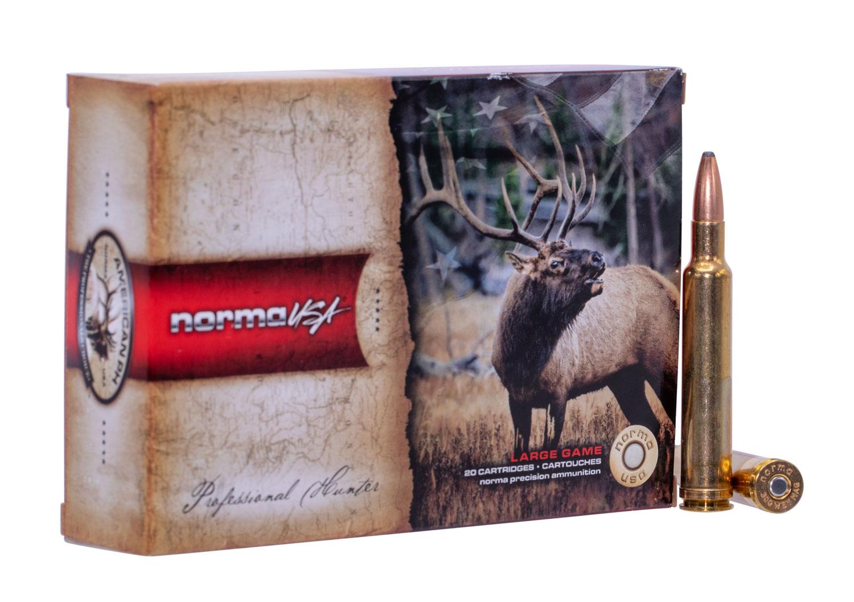 NORMA AMMUNITION (RUAG) 20174632 American PH   300 Weatherby Magnum 165 GR Oryx 20 Bx/10 Cs