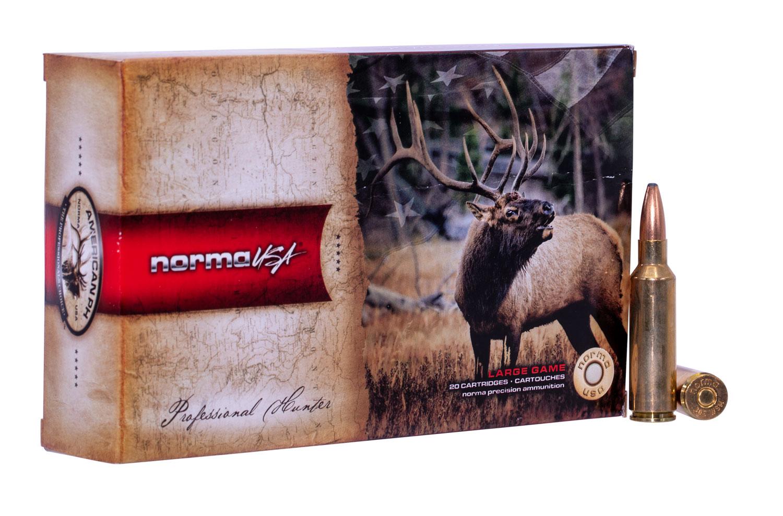 NORMA AMMUNITION (RUAG) 20174872 American PH   300 Winchester Short Magnum (WSM) 180 GR Oryx 20 Bx/10 Cs