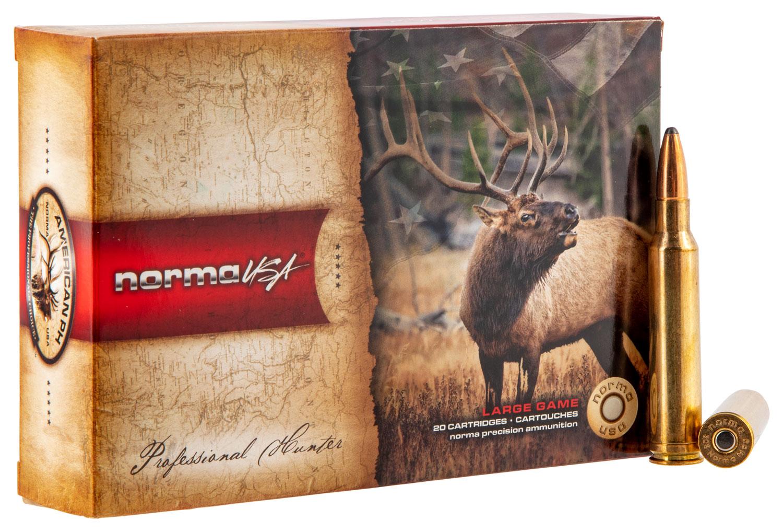 NORMA AMMUNITION (RUAG) 20174912 American PH   308 Norma Magnum 180 GR Oryx 20 Bx/10 Cs