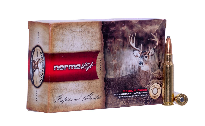 NORMA AMMUNITION (RUAG) 20174842 American PH   308 Winchester 165 GR Oryx 20 Bx/ 10 Cs
