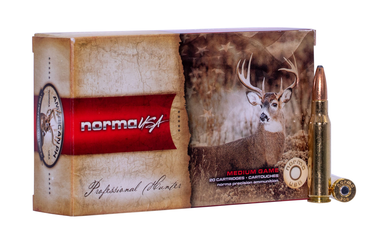 NORMA AMMUNITION (RUAG) 20174942 American PH   308 Winchester 180 GR Oryx 20 Bx/ 10 Cs