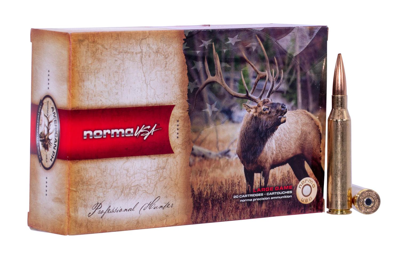 NORMA AMMUNITION (RUAG) 10185192 American PH Sierra Matchking  338 Lapua Magnum 250 GR Sierra HPBT 20 Bx/ 10 Cs