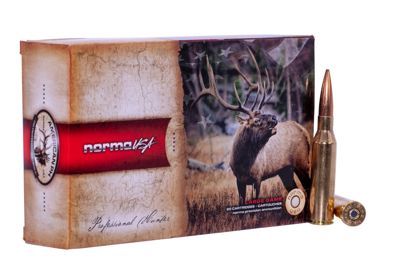 NORMA AMMUNITION (RUAG) 20185272 American PH Sierra Matchking  338 Norma Mag 300 GR Sierra HPBT 20 Bx/10 Cs