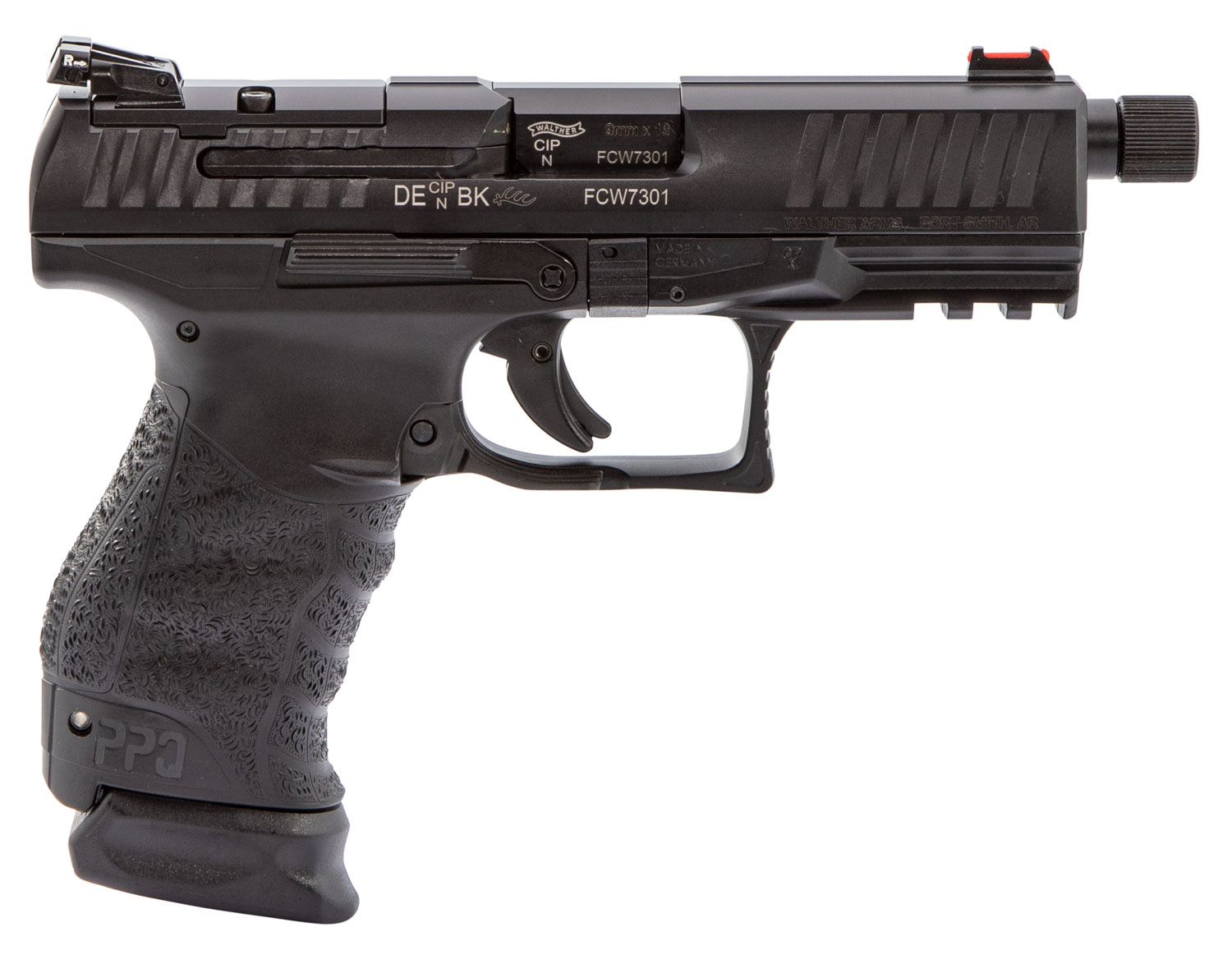 Walther Arms 2837200 PPQ   Tactical 9mm 15+1