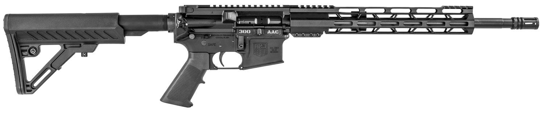 Diamondback DB15CCML300B DB15 *California Compliant*  Semi-Automatic 300 AAC Blackout/Whisper (7.62x35mm) 16