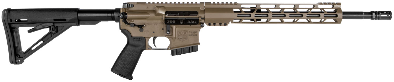 Diamondback DB15CCML300F DB15 *California Compliant*  Semi-Automatic 300 AAC Blackout/Whisper (7.62x35mm) 16