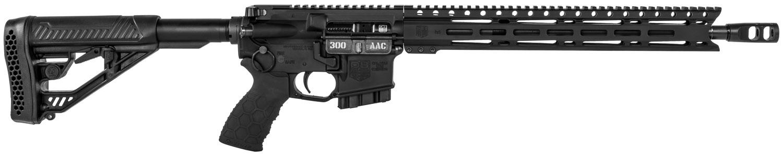Diamondback DB15EML300BC DB15 Elite *California Compliant*  Semi-Automatic 300 AAC Blackout 16