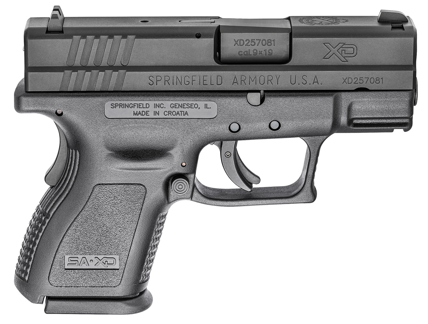 Springfield Armory XDD9801 XD Defender Sub-Compact 9mm Luger 3