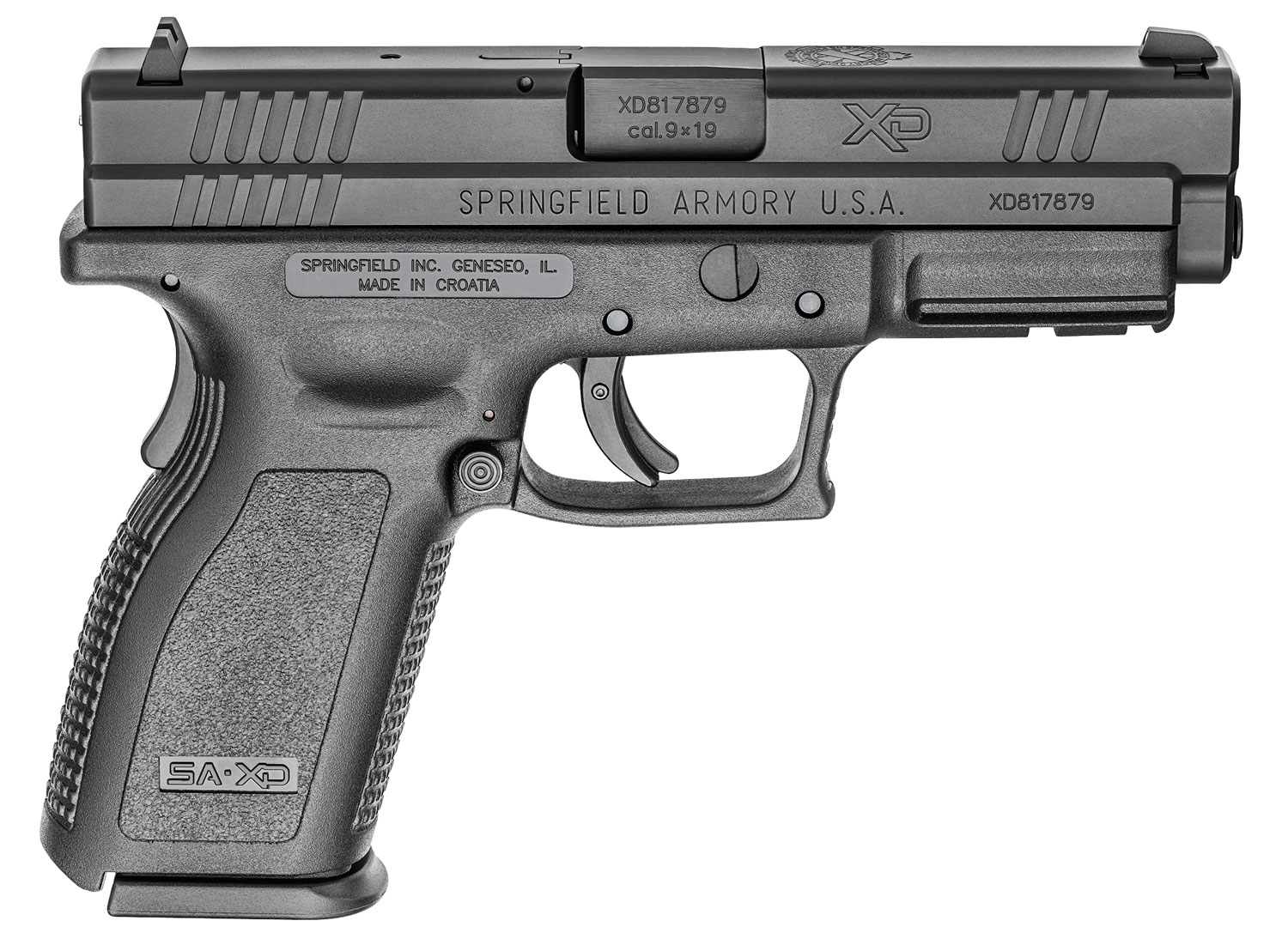 Springfield Armory XDD9101 XD Defender Service Model 9mm Luger 4
