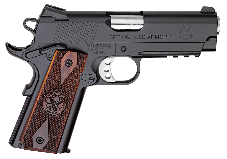 Springfield Armory PX9115L18 1911 Champion Operator Lightweight  45 Automatic Colt Pistol (ACP) Single 4