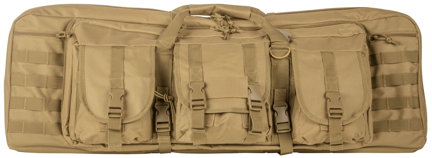 NCSTAR VISM DBL CARB CASE TAN 36