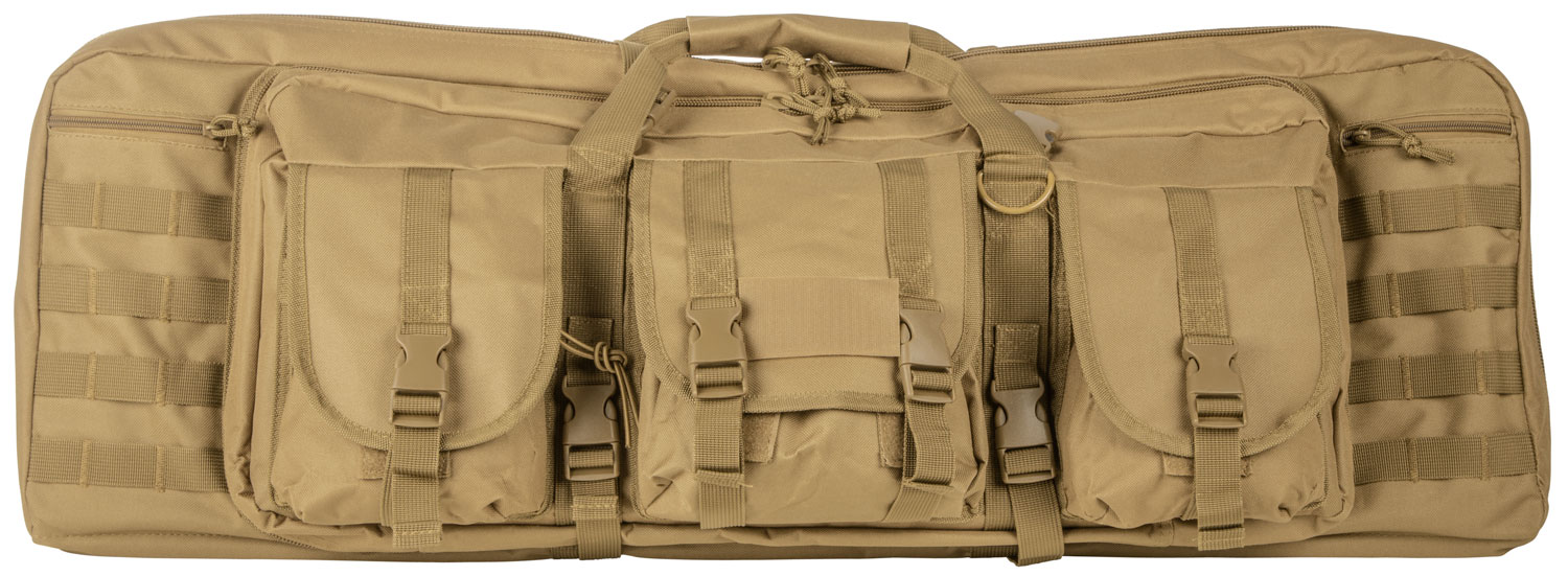 NCSTAR VISM DBL CARB CASE TAN 42