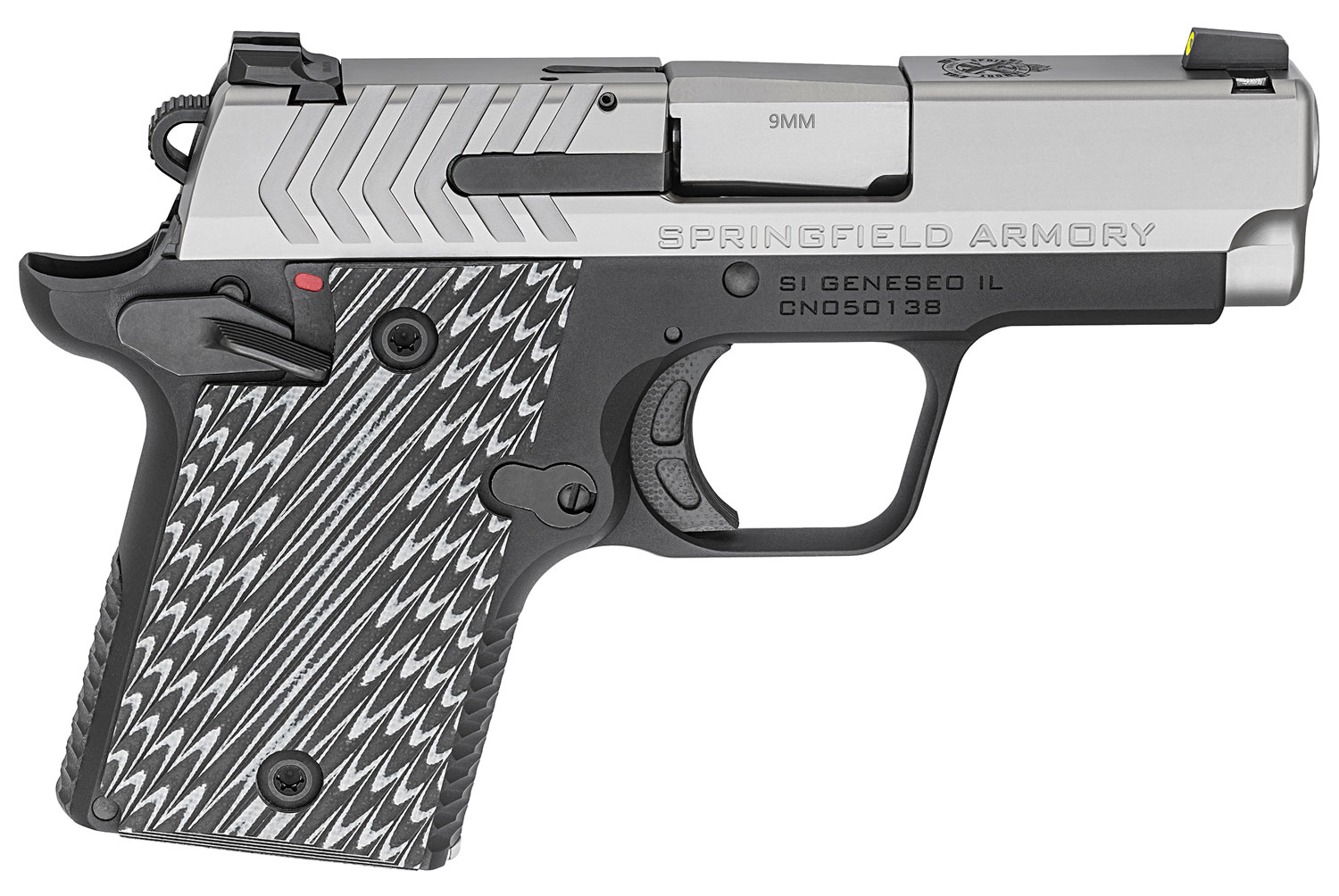 Springfield Armory PG9119S 911   9mm Luger Single 2.7