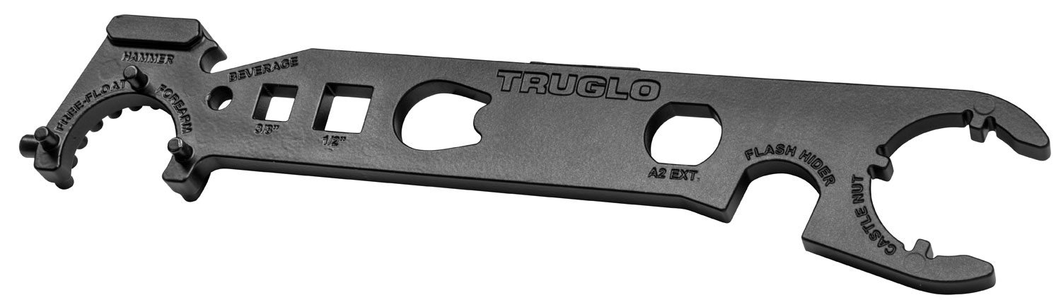 TRUGLO ARMORER'S WRENCH/MULTI TOOL STEEL W/POWDER COAT