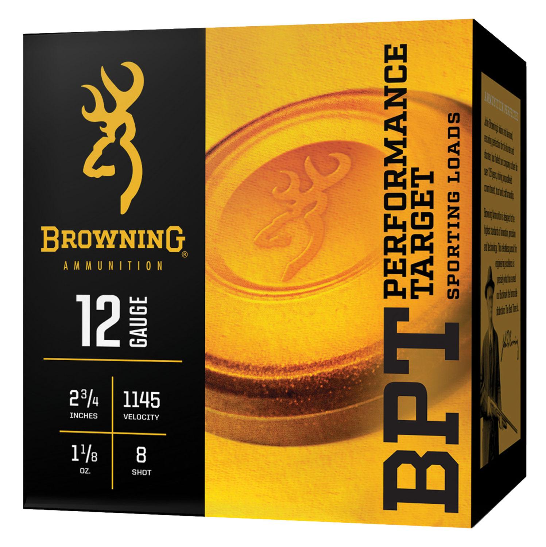 Browning Ammo B193601228 BPT  12 Gauge 2.75