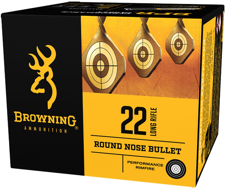 Browning Ammo B194122000 BPR  22 Long Rifle (LR) 36 GR 1000 Bx/ 2 Cs