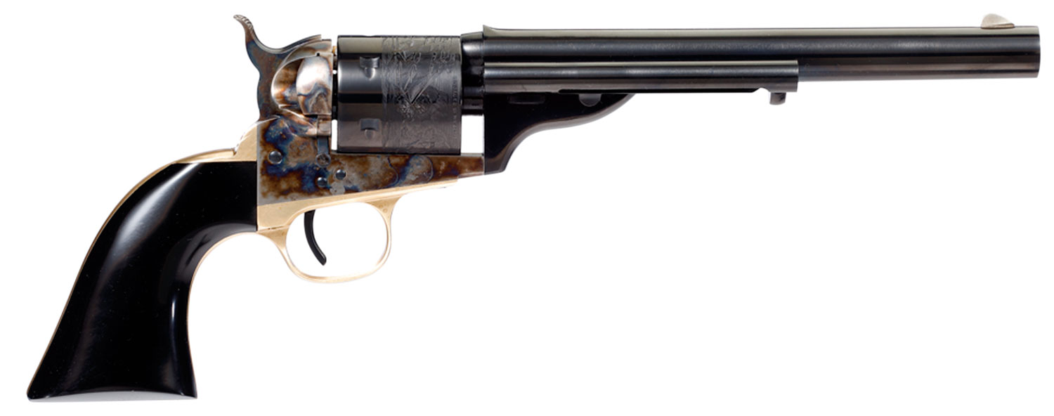 Taylors and Company  Cavalier Open-Top  Revolver Single 38 Special 7.5