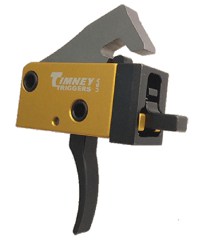 Timney Triggers 681 PCC Trigger  AR Platform Single-Stage Curved 2.50-3 lbs