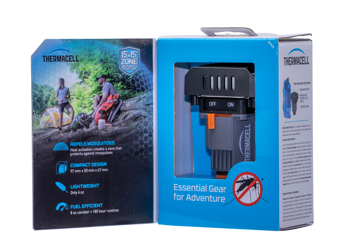 Thermacell MRBPR Backpacker Mosquito Repeller Unscented