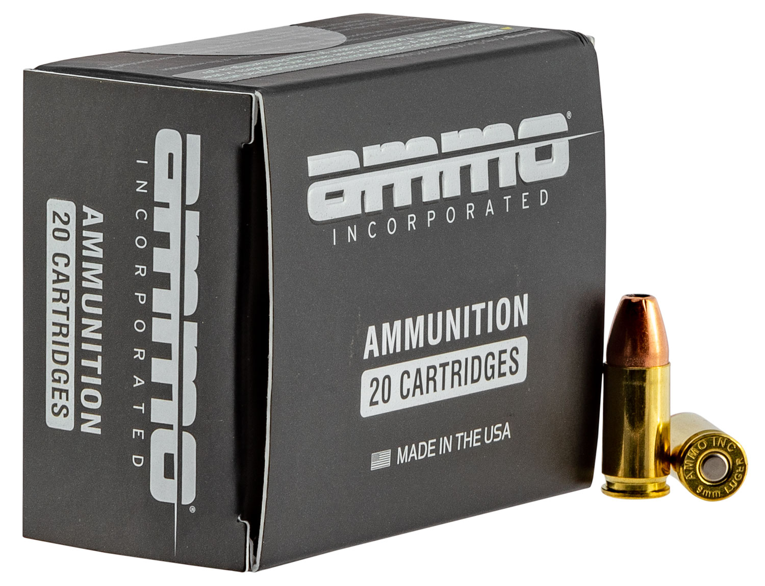 Ammo Inc 9115JHPA20 Jesse James TML  9mm Luger 115 GR Jacketed Hollow Point (JHP) 20 Bx/ 10 Cs