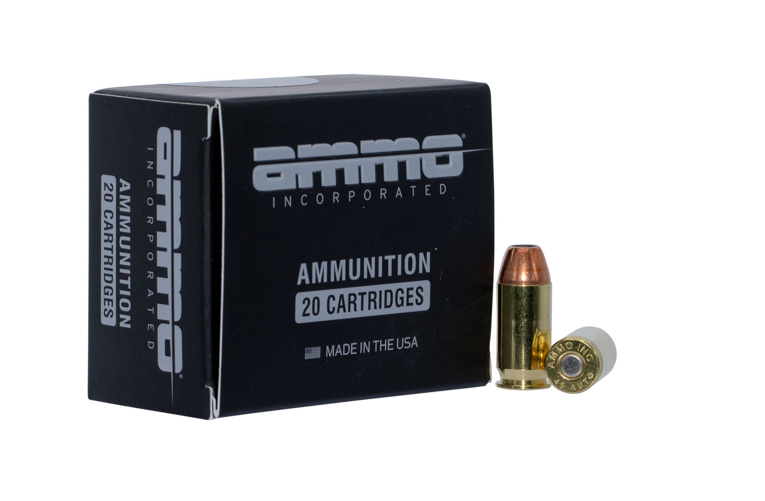 Ammo Inc 45230JHPA20 Jesse James   45 Auto 230 GR Jacketed Hollow Point (JHP) 20 Bx/ 10 Cs