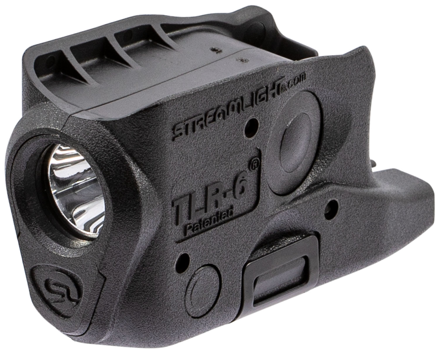 Streamlight 69282 TLR-6 Weapon Light fits Glock 26/27/33 White LED 100 Lumens 1/3N Lithium Battery Black Polymer No Laser