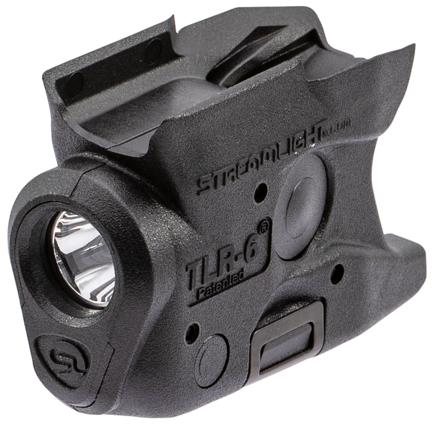 Streamlight 69283 TLR-6 Weapon Light for S&W M&P Shield White LED 100 Lumens 1/3N Lithium Battery Black Polymer No Laser