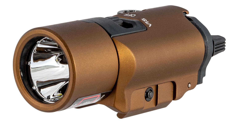Streamlight 69191 TLR-VIR II  White LED 300 Lumens CR123A Lithium Battery Black Polymer