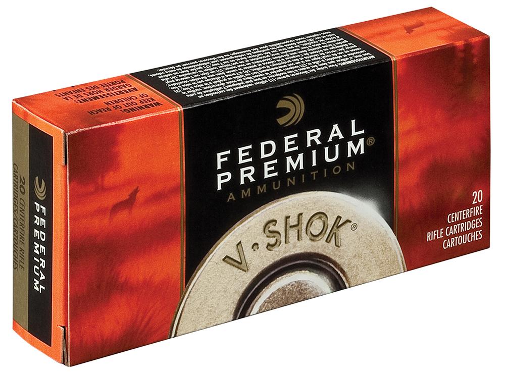 Federal P222C Premium Varmint & Predator  222 Remington 40 GR Nosler Ballistic Tip 20 Bx/ 10 Cs