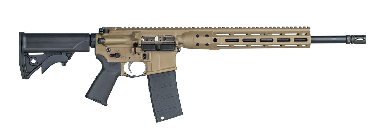 LWRC ICDIR3CK16ML Individual Carbine Direct Impingement 300 Blackout 16.10