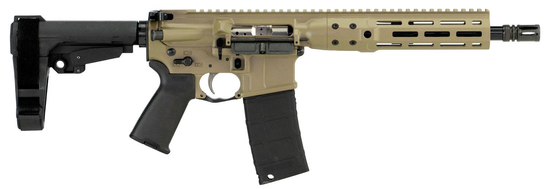 LWRC ICDIP3CK10MLSBA3 Individual Carbine Direct Impingement  AR Pistol Semi-Automatic 300 Blackout 10.5