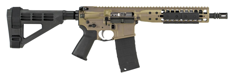 LWRC ICDIP5CK10BR Individual Carbine Direct Impingement  AR Pistol Semi-Automatic 5.56 NATO 10.5