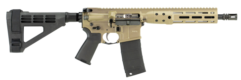 LWRC ICDIP5CK10BRML Individual Carbine Direct Impingement  AR Pistol Semi-Automatic 5.56 NATO 10.5