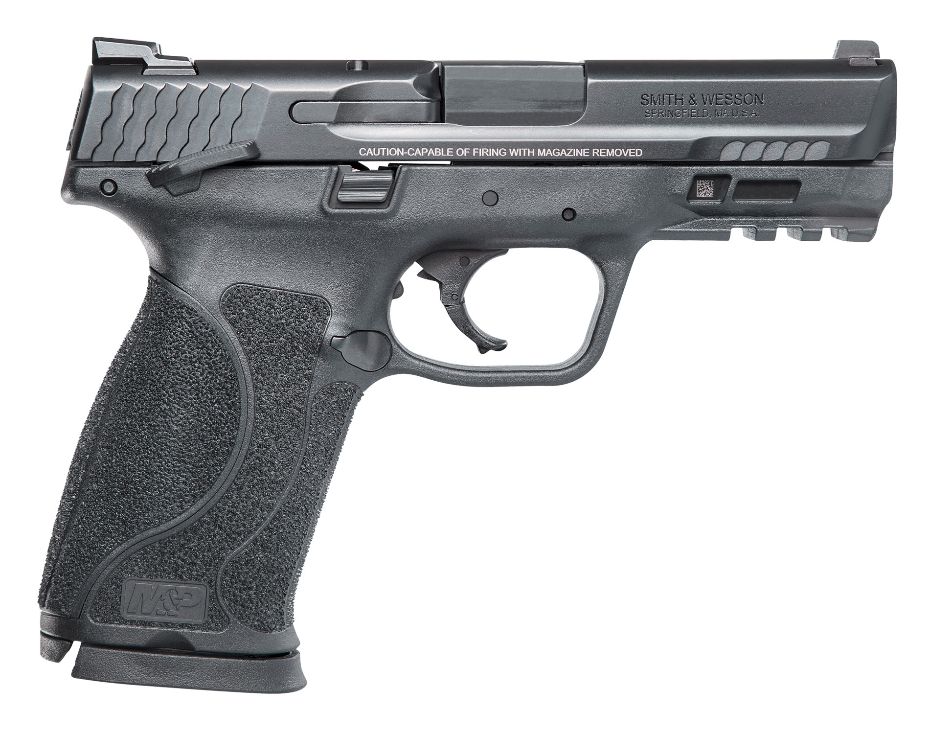 Smith & Wesson 12466 M&P 9 M2.0 Compact *MA Compliant* 9mm Luger Double 4