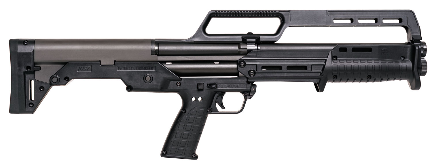 KS7 12/18.5 6+1 CARRY HANDLE - BLACK SYNTHETIC STOCK